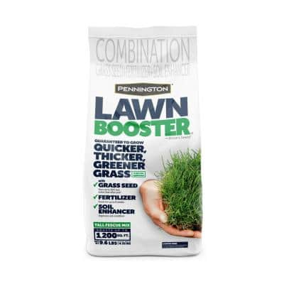 9.6 lbs. Tall Fescue Lawn Booster with Smart Seed, Fertilizer and Soil Enhancers