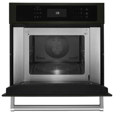 1.4 cu. ft. Built-In Convection Microwave in Black Stainless with PrintShield Finish