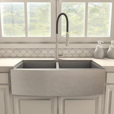 ZLINE Da Vinci Kitchen Faucet in Brushed Nickel (DAV-KF-BN)