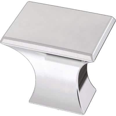Modern A-Line 1-1/8 in. (28 mm) Polished Chrome Cabinet Knob