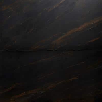 Daze Stone 24 in. x 48 in. Brown Matte Porcelain Floor and Wall Tile (2 pieces / 15.49 sq. ft. / case)