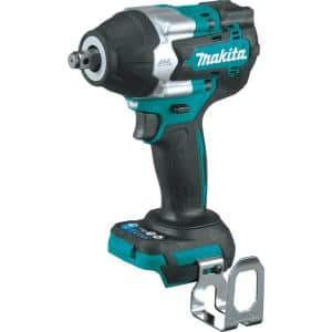 18-Volt LXT Lithium-Ion Brushless Cordless 4-Speed Mid-Torque 1/2 in. Impact Wrench w/ Friction Ring Anvil (Tool-Only)