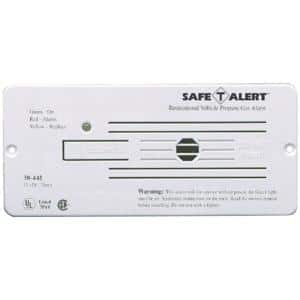 Mti Industries 30 Series 12 Volt Safe T Alert Flush Mount Rv Propane Lp Gas Alarm In White 30 442 P Wt The Home Depot