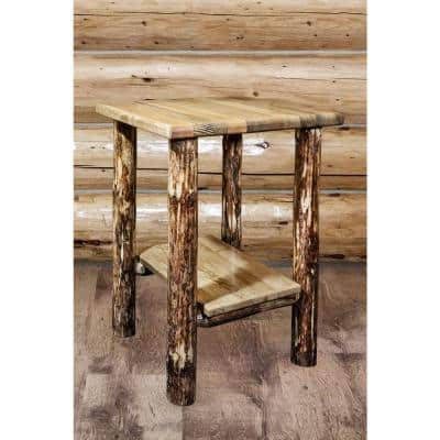 Glacier Country Collection Puritan Pine Nightstand