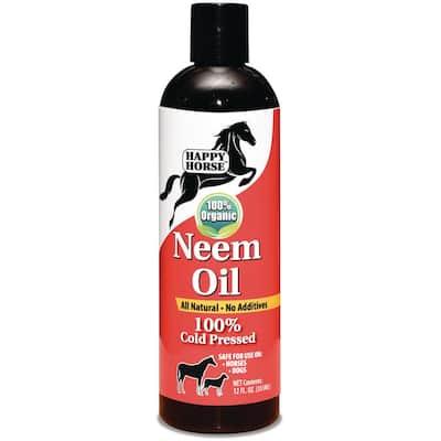 Happy Horse 12 oz. Neem Oil 100% Cold Pressed and Unrefined