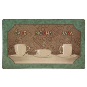 Coffee Selection 18 in. x 30 in. Comfort Mat