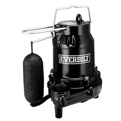 1/2 HP Cast Iron Sump Pump