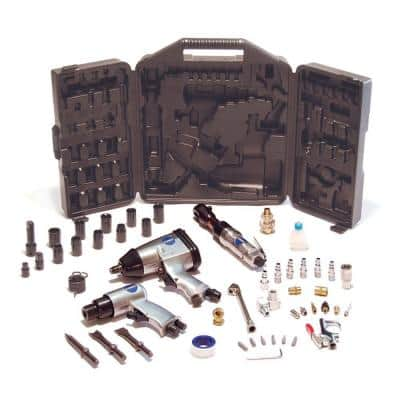 50-Piece Air Compressor Tool Kit with Storage Case