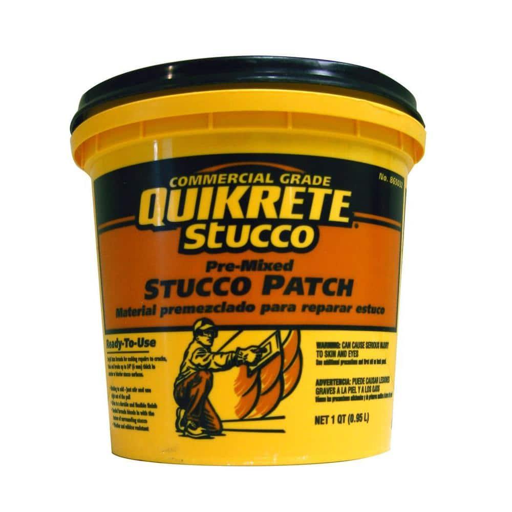 Quikrete 1 Qt Patch Pre Mixed Stucco