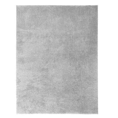 Ethereal Shag Grey 7 ft. x 10 ft. Indoor Area Rug