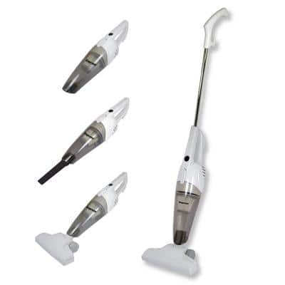 GoVac 2-in-1 White Corded Upright and Handheld Vacuum Cleaner