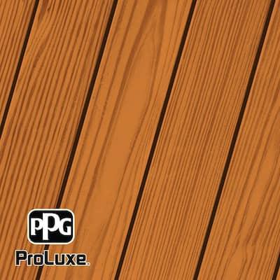 1 gal. #HDG-ST-216 Natural Cedar SRD Exterior Semi-Transparent Matte Wood Finish