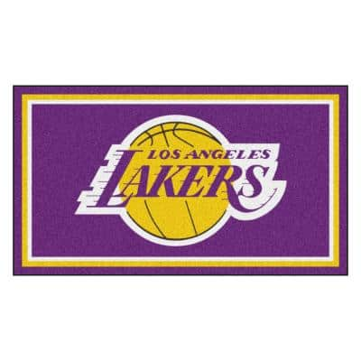 NBA - Los Angeles Lakers 3 ft. x 5 ft. Ultra Plush Area Rug