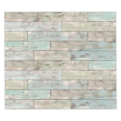 Seaside Wood Wall Decal