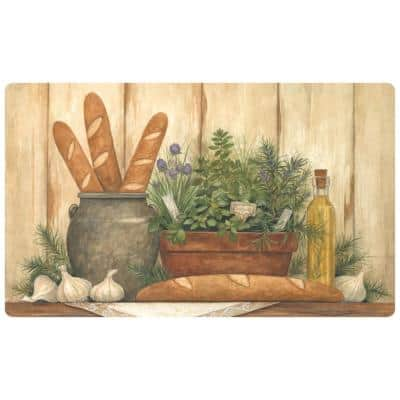 Afternoon Spread 18 in. x 30 in. Comfort Mat