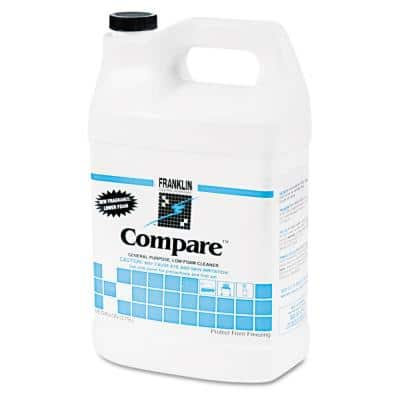 Compare Floor Cleaner, 1 Gal. Bottle, 4/Carton