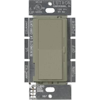 Diva 1.5 Amp Single-Pole/3-Way 3-Speed Fan Control, Greenbriar