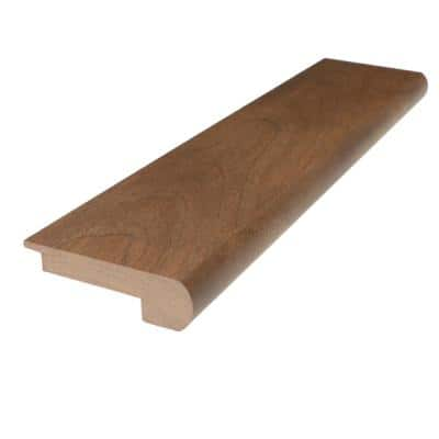 Solid Hardwood Ross 0.27 in. T x 2.78 in. W x 78 in. L Stair Nose