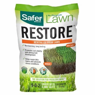 20 lbs. 5,000 sq. ft. Lawn Restore Dry Fertilizer (1-Pack)