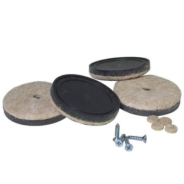 On Felt Pads 4 Pack, Pads For Furniture Legs Home Depot