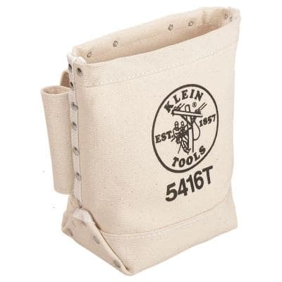9 in. Canvas Bull-Pin and Bolt Bag