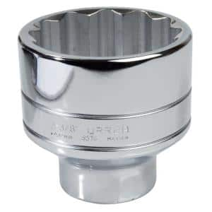 3/4 in. Drive 12 Point 1-1/4 in. Chrome Socket