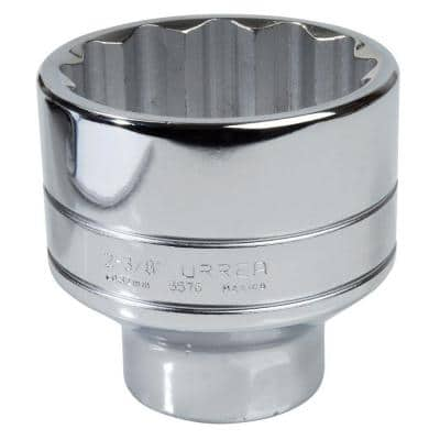 3/4 in. Drive 12 Point 1-5/16 in. Chrome Socket
