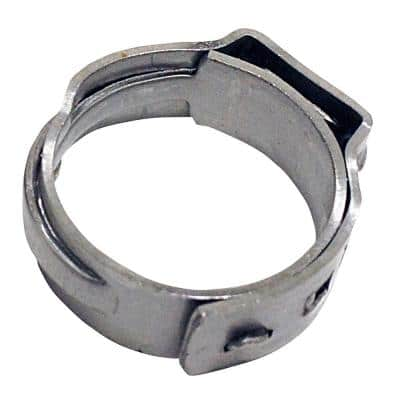 1/2 in. Stainless Steel PEX Barb Pinch Clamp (25-Pack)