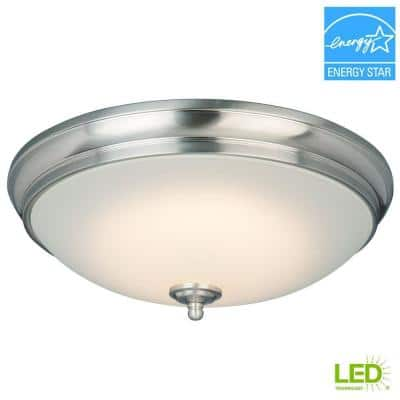 Flush Mount Lighting Flush Mount Lights Lighting The Home Depot