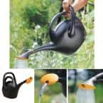 Easy Pour 2.6 Gal. Black Plastic Watering Can