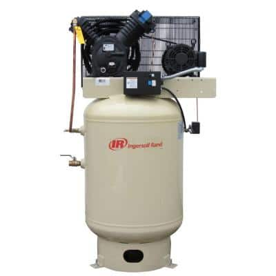 Type 30 Reciprocating 120 Gal. 10 HP Electric 460-Volt 3 Phase Air Compressor