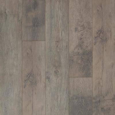 8 mm Summit Grey Oak Laminate Flooring - 5 in. x 7 in. Take Home Sample