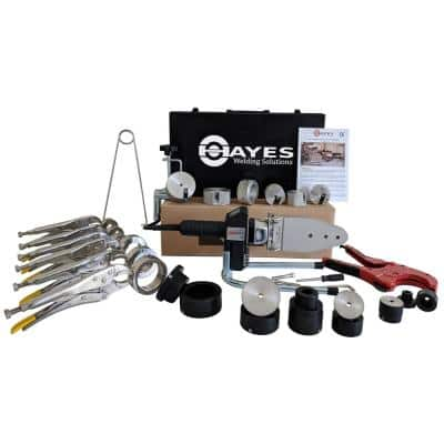 Hayes Digital Socket Fusion Pipe Welder Tool Complete Kit (up to 2 in.)