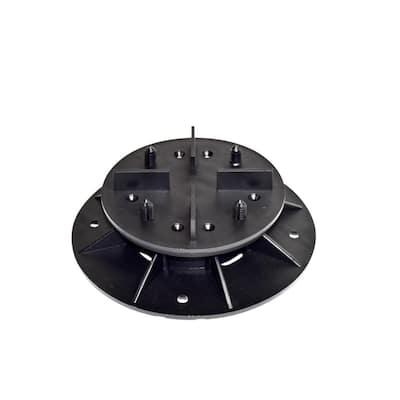 DTG-S2 2.36 in. to 3.15 in. Deck Tile Compatible Plastic Adjustable Pedestal Support (8-Pack)