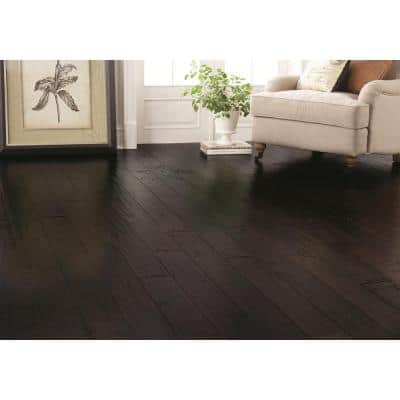 7-1/2 in. W Berkshire Hand Scraped Strand Woven Wide Plank Engineered Click Bamboo Flooring (22.70 sq. ft./case)