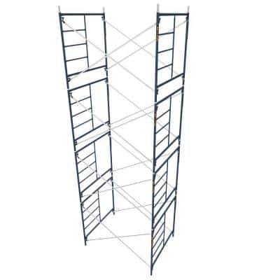 Saferstack 5 ft. x 7 ft. x 5 ft. Mason Scaffold (Set of 4)