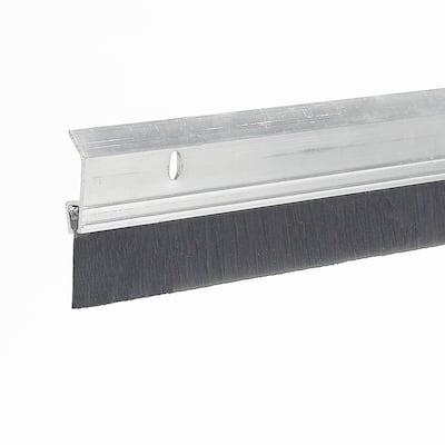 E/O 2 in. x 36 in. Heavy-Duty Aluminum and Brush Door Sweep