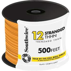 500 ft. 12 Orange Stranded CU THHN Wire