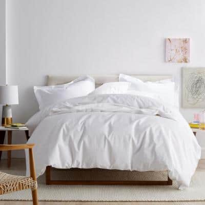 Company Cotton® 300-Thread Count Percale Deep Pocket Fitted Sheet