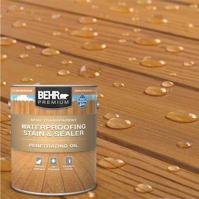 1 Gal. #ST-533 Cedar Naturaltone Semi-Transparent Penetrating Oil-Based Exterior Waterproofing Wood Stain