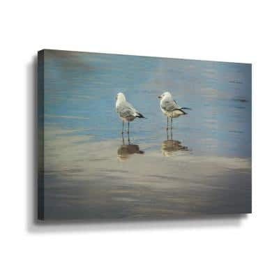 Silent they wait' by Eunika rogers Canvas Wall Art