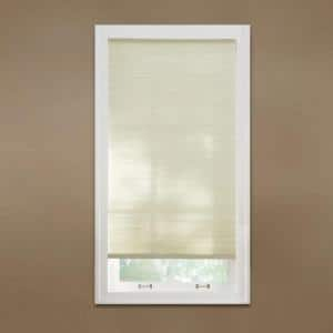 Parchment Cordless Light Filtering Cellular Shade  - 20.375 in. W x 64 in. L