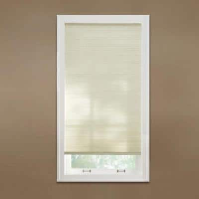 Parchment Cordless Light Filtering Cellular Shade  - 30 in. W x 64 in. L