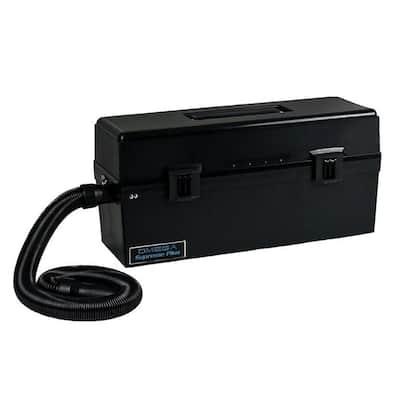 Omega Super HEPA Canister Vacuum Cleaner in Black