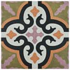 Egeo Naxos Encaustic 9-3/4 in. x 9-3/4 in. Porcelain Floor and Wall Tile (11.11 sq. ft. / case)