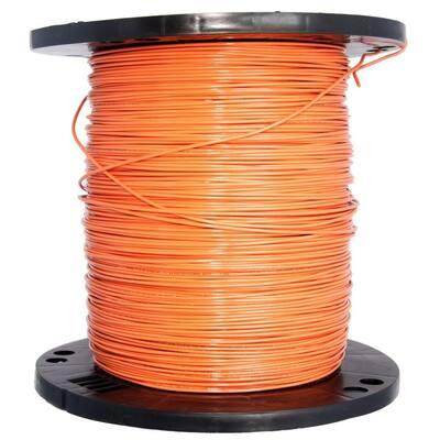 2500 ft. 14 Orange Solid CU THHN Wire