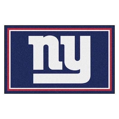 New York Giants 4 ft. x 6 ft. Area Rug