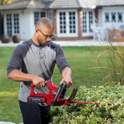 PowerPlex 24 in. 40-Volt Max Lithium-Ion Cordless Hedge Trimmer - Battery and Charger Not lncluded