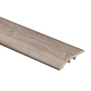 Crystal Oak 5/16 in. Thick x 1-3/4 in. Wide x 72 in. Length Vinyl Multi-Purpose Reducer Molding
