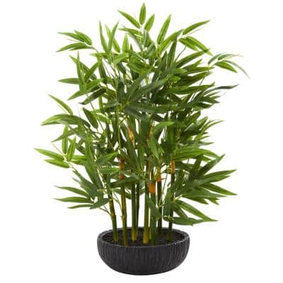Indoor 20 in. Bamboo Artificial Plant